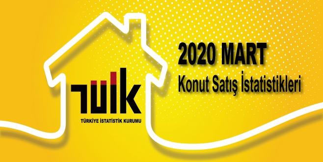 TÜİK 2020 Mart Ayı Konut Satış İstatistikleri Açıklandı